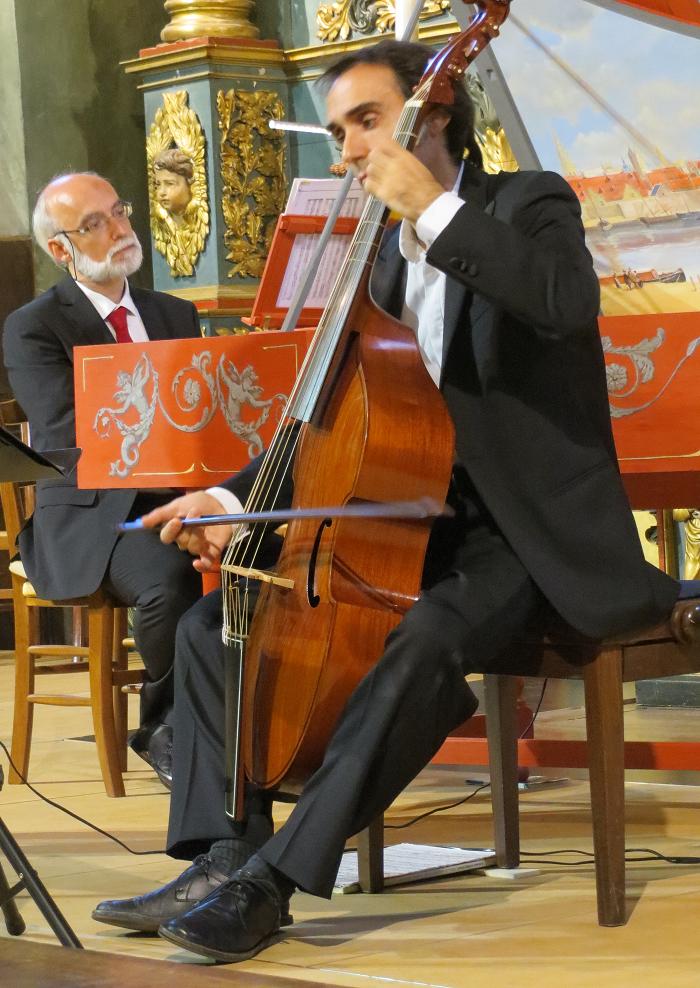 Il Gardellino - Lorenzo et Vittorio Ghielmi - Valloire 2013
