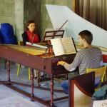 dans le cadre de La Traverse, Gwennaëlle Alibert, Clément Geoffroy (répétition)