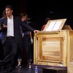Fin de concert à l'Espace Culturel Le Savoie de Saint-Michel-de-Maurienne, Bruno Procopio