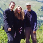 La Galania - Jesus Fernandez Baena, Raquel Andueza, Pierre Pitzl (au cours du déjeuner sur l'herbe)