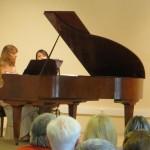 dans le cadre de La Traverse, Concert Valloire de la Master Class, Florence Schiffer