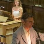 """dans le cadre de La Traverse, Concert """"Valloire enchanté"""", Florence Schiffer et Gaël de Kerret"""